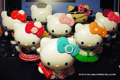 全套 Hello Kitty 角色扮演派對公仔