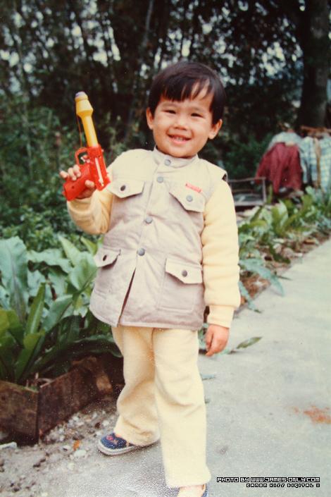 小時候的照片