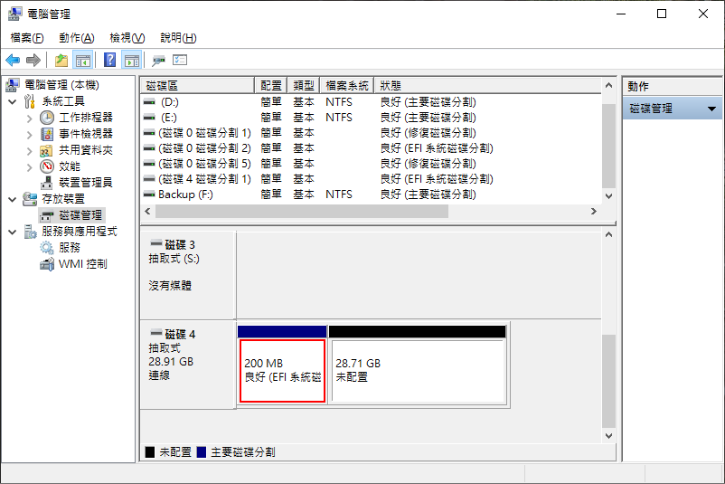 「EFI 系統磁碟分割」刪不掉怎麼辦?