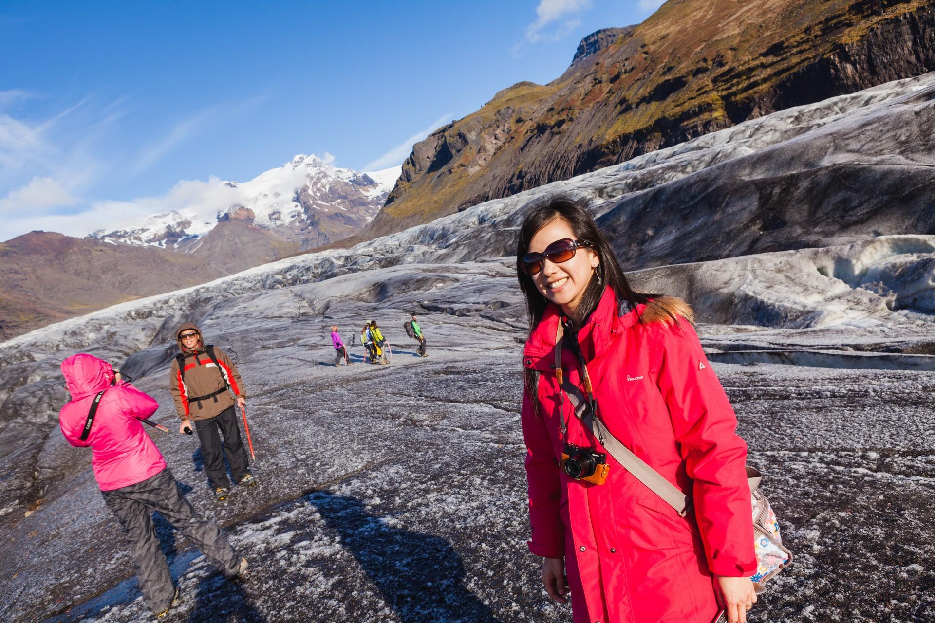【北歐自助旅行】Day 10(冰島 / 冰河湖、瓦特納冰川國家公園 – 冰川健行)
