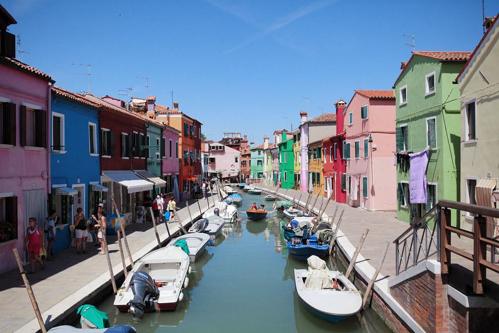 義大利自助旅行 Day 12(威尼斯必遊景點 – 布拉諾島 & 穆拉諾島)