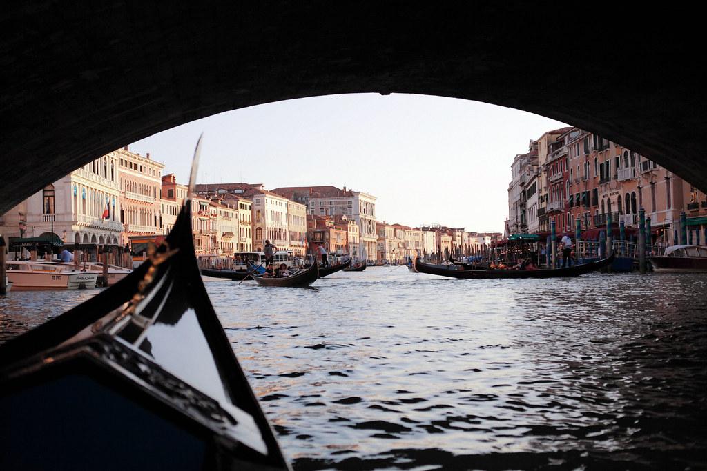 義大利自助旅行 Day 13(搭貢多拉體驗威尼斯水上風情)