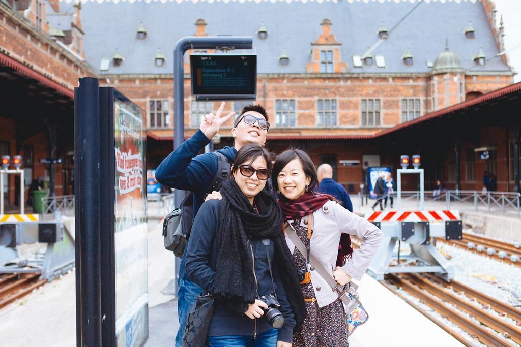 【北歐自助旅行】Day 3(丹麥 / 克隆堡、菲特烈堡)